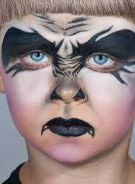 ghost face paint makeup