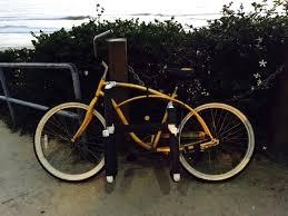 diy bike rack pvc hey hipster here s a surfboard bike rack for ya how to minute diy bike rack
