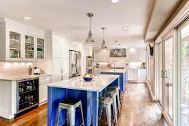 Two Island Kitchen Custom Color traditional-kitchen
