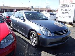 2006 Used INFINITI G35 Sedan at Woodbridge Public Auto Auction, VA ...