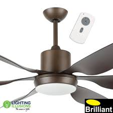 oil rubbed bronze aviator high performance 66 dc ceiling fan optional light kit remote lighting illusions