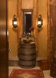 rustic lighting ideas. Amazing Of Rustic Bathroom Lighting Ideas For Home Design Plan With T