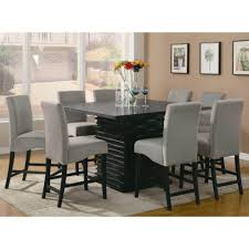Dining Room Fancy Black Dining Room Sets With Mix Of Gray Toned - Modern white dining room sets