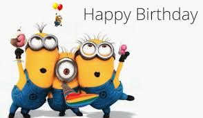 Minion Happy Birthday Wishes Happy Birthday Wishes With M Happy