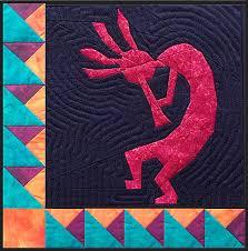 Kokopelli - NEW Form of Foundation Paper Piecing (Picture Piecing ... & Kokopelli Quilt Block Adamdwight.com