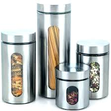 modern kitchen canisters clear glass canister sets large size of caniste