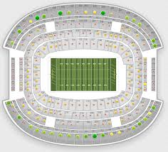 Jacksonville Jaguars 3d Seating Chart Nfl Seating Charts Stadium Maps Tba