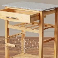 kitchen island granite top sun: varick galleryampreg flint kitchen cart with granite top