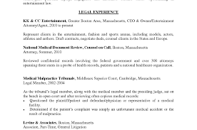 Attorney Resume Attorney Resume Format Cover Letter Sample Legal