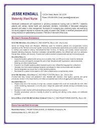 nurse anesthetist resumes nurse anesthesia resume example