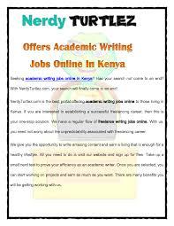 nerdyturtlez com offers academic writing jobs online in nerdyturtlez com offers academic writing jobs online in