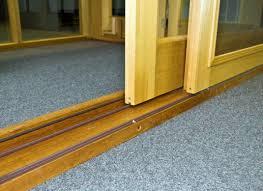 sliding door repaired runner track