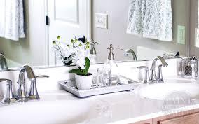 problem 1 bathroom counter clutter
