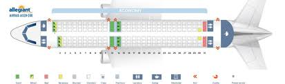 United Airlines Airbus 320 Seating Chart Allegiant Air Fleet Airbus A320 200 Aircraft Details And