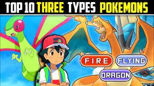 Top 10 Pokemon Three Types In Pokemon | Top 10 Pokemon 3 Types Deserved!