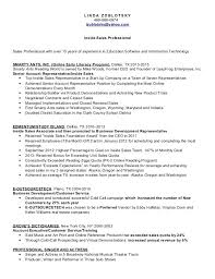 Inside Sales Rep Resume Inside Sales Representative Resume Sample ...