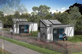 tiny houses for homeless. The Tiny Homes Foundation Pilot Project Designed By NBRS Architecture. Houses For Homeless
