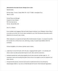 Cover Letters For Career Changers Lezincdc Com