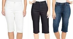 New Womens Gloria Vanderbilt Amanda Skimmer Heritage Fit Stretch Classic Jeans Ebay