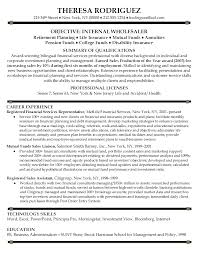 Sample Resume For Financial Services Financial Services Representative Resume Sample Resume