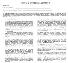 Advertising Contract Template Free With Download This Sample ...