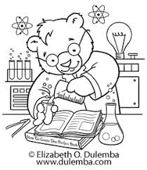 Small Picture dulemba Coloring Page Tuesday Science Bear