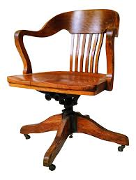 vintage wooden office chair. Vintage Office Chair. Best Chairs In May 2017 | Chairish Marble \u0026 Wooden Chair I