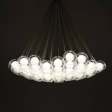 bubble chandelier modern pendant new modern glass ball bubble led pendant lamp chandelier