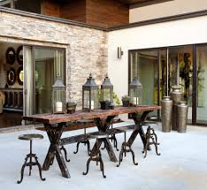 black outdoor table lamps patio rustic with bar industrial bar stools and counter stools