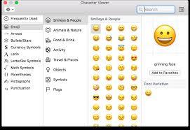 Macos A Fast Keyboard Shortcut For Mac Emojis The Mac Observer