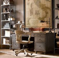 Amusing Home Office Vintage Furniture Decoration Ideas Interior ...