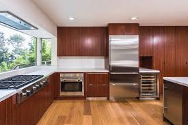 modern wood kitchen cabinets great popular mid century modern kitchen cabinets re mendation