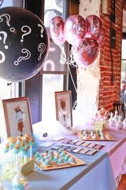 The treat table was full of sweet treats (and was super cute). Here are a  few snaps from our Baby GQ Gender Reveal Brunch.