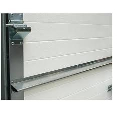 garage door brace horizontal opener reinforcement u bar strut for 9