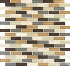 luxor valley brick pattern mosaic glass tile sample