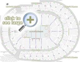 Bridgestone Arena Seating Chart Virtual Bridgestone Arena Seat Row Numbers Detailed Seating Chart