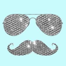 Diamond Mustache with Sunglasses T-Shirts & Gifts