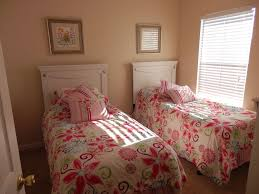 Retro Style Bedroom Kids Room Retro Style Twin Bedroom Ideas With Brown Wooden Bed
