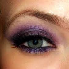 makeup for green eyes purple eye shadow for hazel eyes