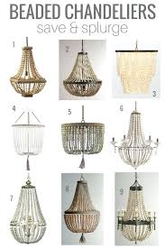 literarywondrous small wood bead chandelier chandeliers small