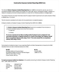 Employee Injury Report Form Template Or Best Incident Nsw