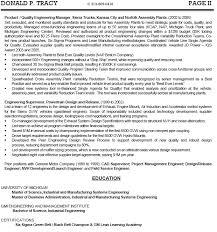 Director Of Engineering Resume samples Free Sample Resume Cover
