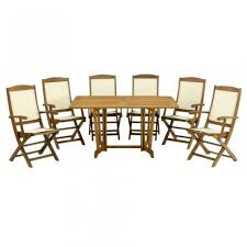 royalcraft marlow wooden 7 piece eg rectangular dining set