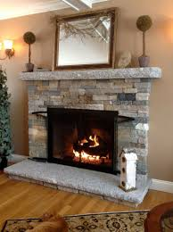 faux stone for fireplace home design ideas