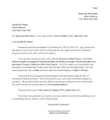 Sample Letter To Landlord To Terminate Lease Early Landlord Termination Letter Tenant Lease Termination Letters Request