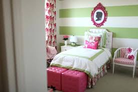 Pink And Green Room Lime Green Wallpaper And Bedding Pink Green