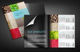 catalog template free catalog layout template