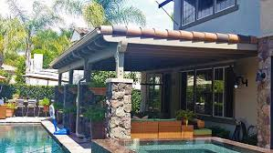 solid wood patio covers. Solid Wood Patio Cover With Roofing And Stone Wraps Covers L