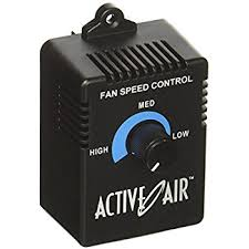 amazon com active air acsc duct fan speed adjuster built in this item active air acsc duct fan speed adjuster