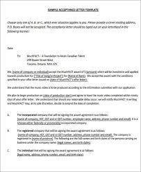 Email Accepting A Job Offer Delectable 48 Offer Letter Format Templates PDF DOC Free Premium Templates
